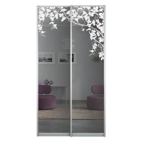 Двери с рисунком в шкаф 1200 мм
