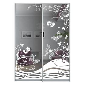 Двери с рисунком в шкаф 1616 мм